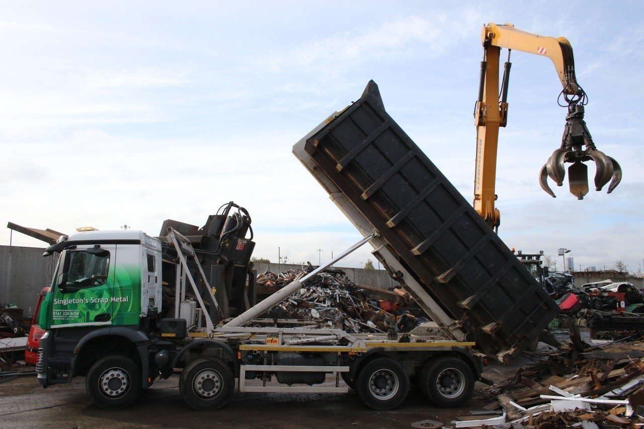 Scrpa metal skip disposal