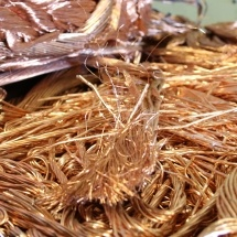 We buy scrap metal - including bright wire