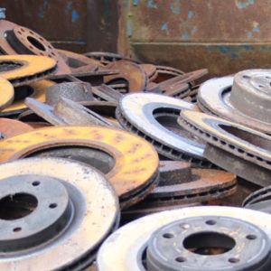 scrap metal brake discs